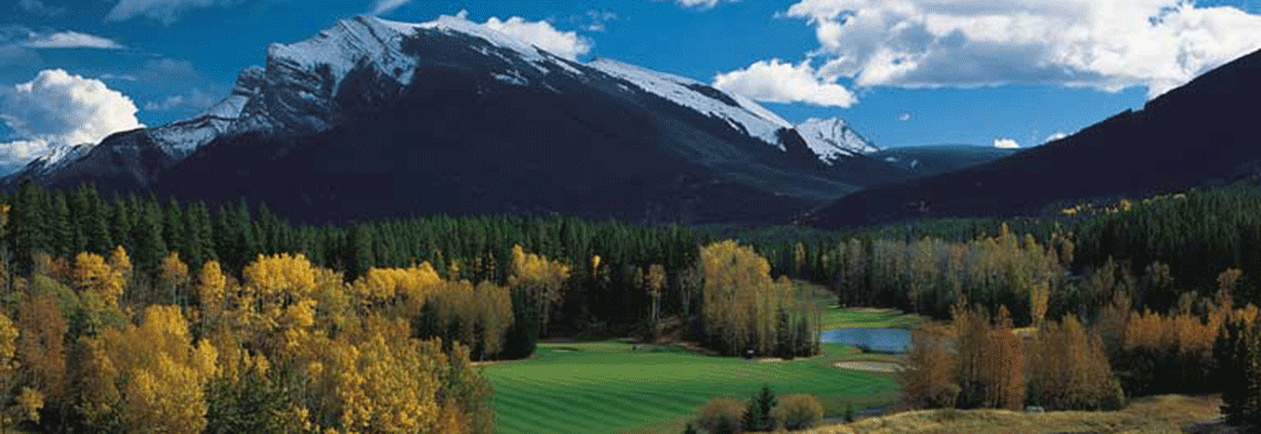 Canadian Rockies Golf Courses - Banff & Jasper Golf Courses