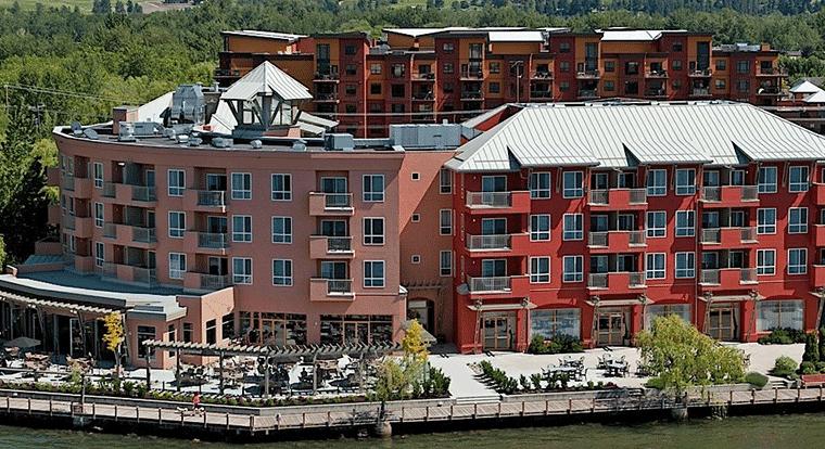 Manteo resort - Waterfront Hotel & Villas. Kelowna, BC