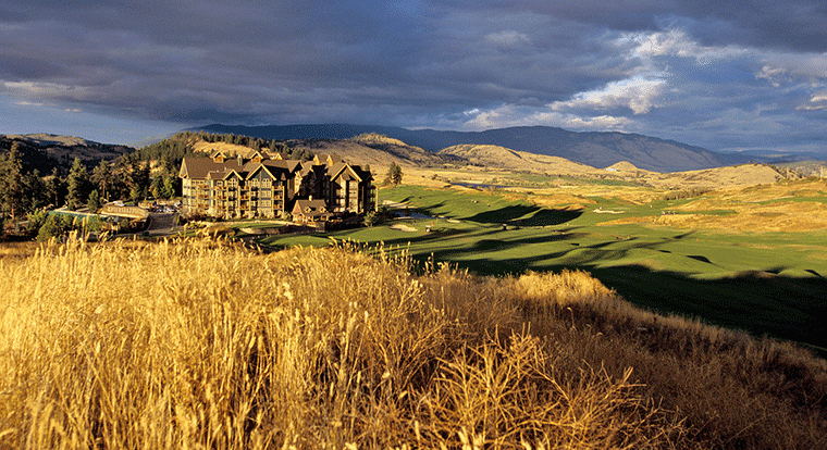 Predator Ridge Golf Resort Lodge. Vernon, BC.