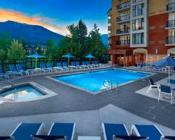 Hilton Whistler - Outdoor Pool. Whistler, BC
