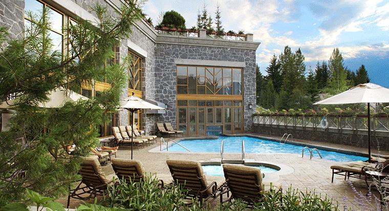 Westin Whistler - Pool. Whistler BC