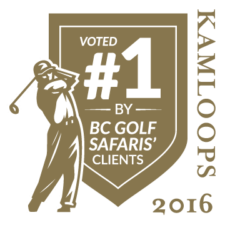 Voted #1 Golf Course in Kamloops  2016