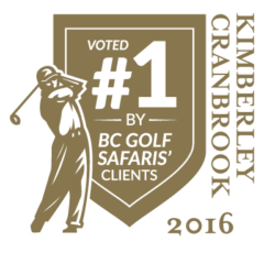 Voted #1 Golf Course in Kimberley / Cranbrook  2016