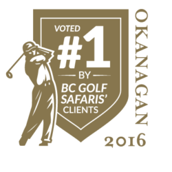 Voted #1 Golf Course in the Okanagan 2016