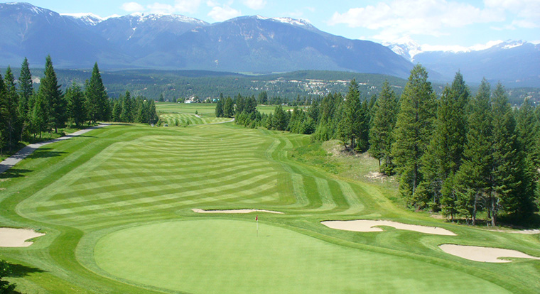 Copper Point Golf Club - Point Course - Invermere, BC