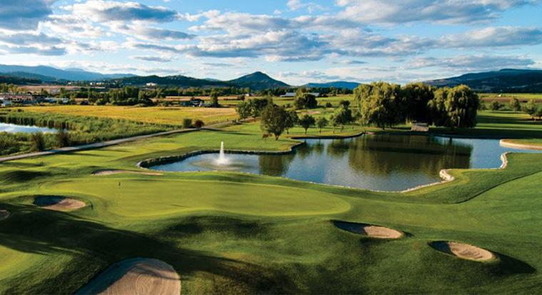 Golf Courses in Kelowna - Kelowna Springs Golf Club