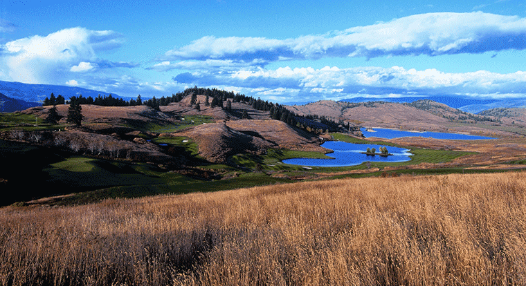 Predator Ridge Golf Resort - Predator Course. Vernon, BC