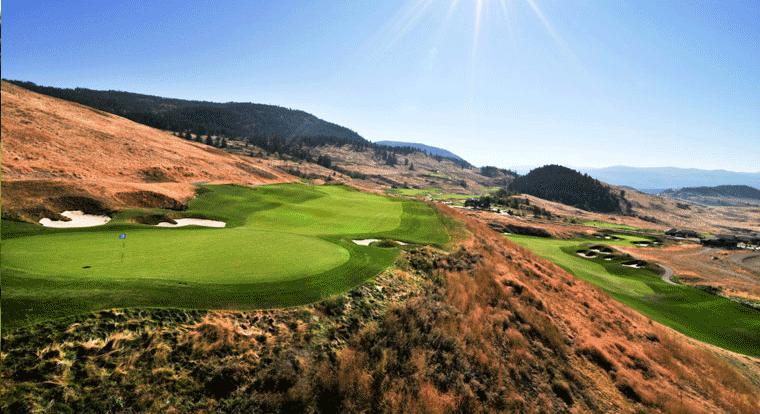 Tower Ranch Golf & Country Club - Hole #6. Kelowna, BC