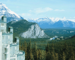 Rim Rock Resort - View of the Bow Valley. Banff, AB