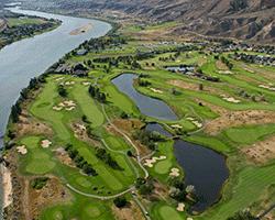 Rivershore Golf Links - Aerial