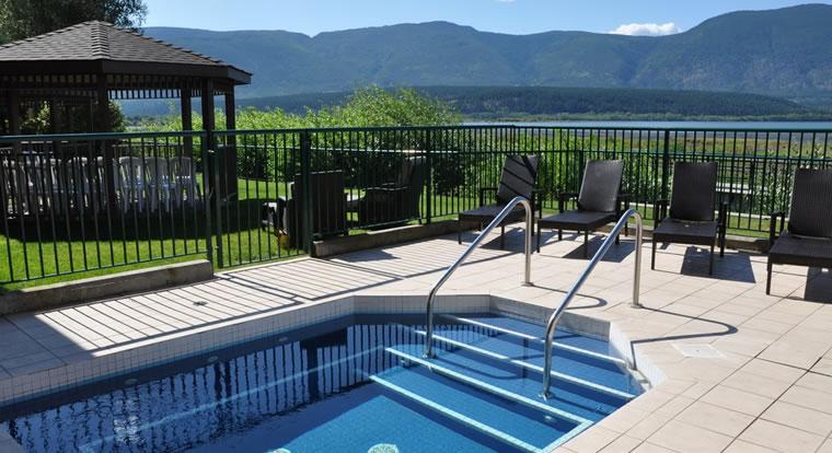 Prestige Harbourfront Resort & Conference Centre - Pool. Salmon Arm, BC