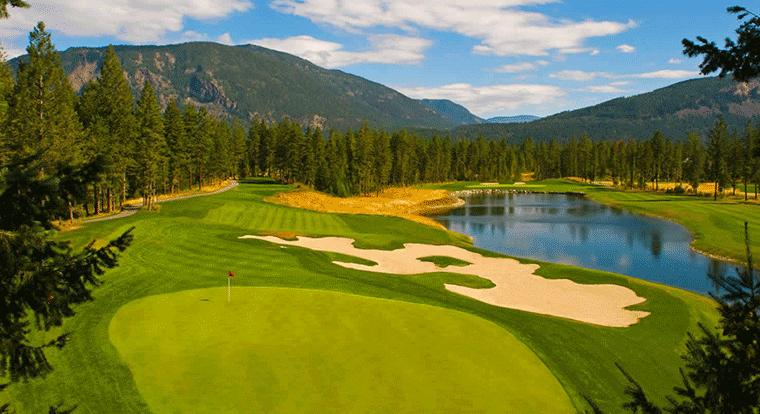 Canoe Creek Golf Course - Salmon Arm, BC