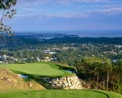 Bear Mountain Golf Resort - Mountain Course - Hole #14. Victoria, BC