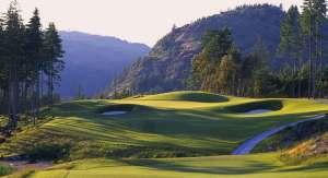 Bear Mountain Golf Resort - Mountain Course - Hole #15. Victoria, BC
