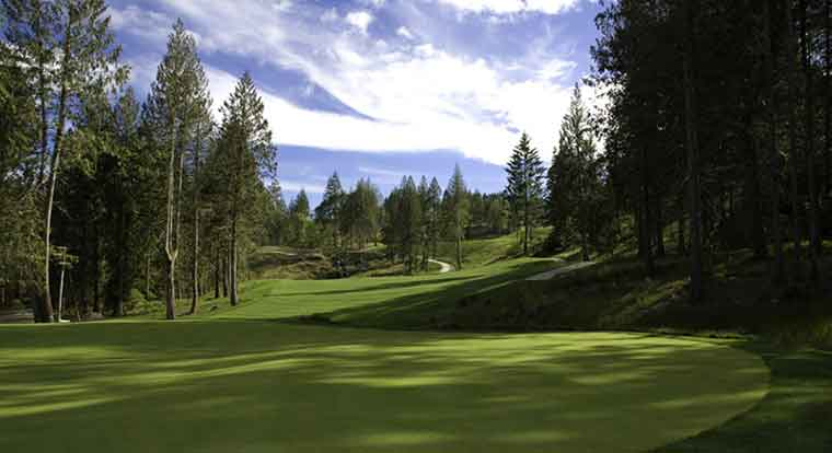Bear Mountain Golf Resort - Valley Course - Hole #17. Victoria, BC
