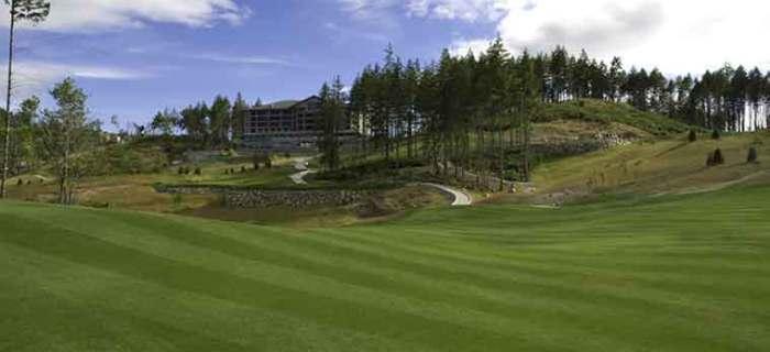 Bear Mountain Golf Resort - Valley Course - Hole #18. Victoria, BC