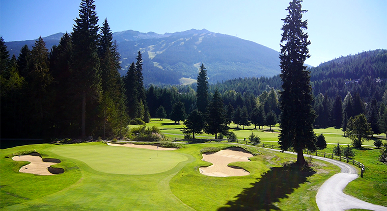 Whistler Golf Course - Whistler Golf Club Hole 13