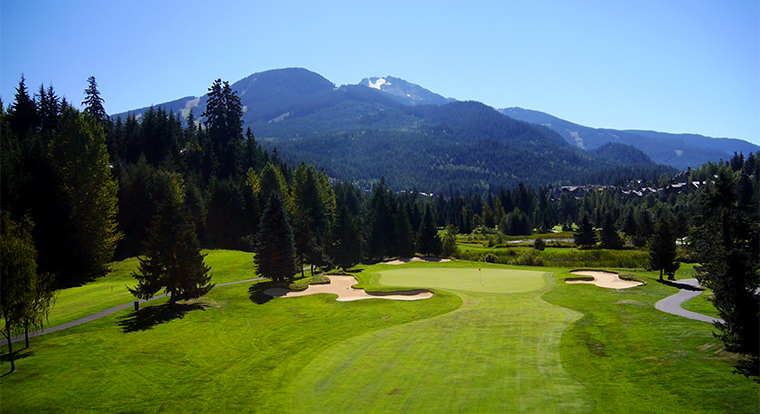 Whistler Golf Course - Whistler Golf Club Hole 5