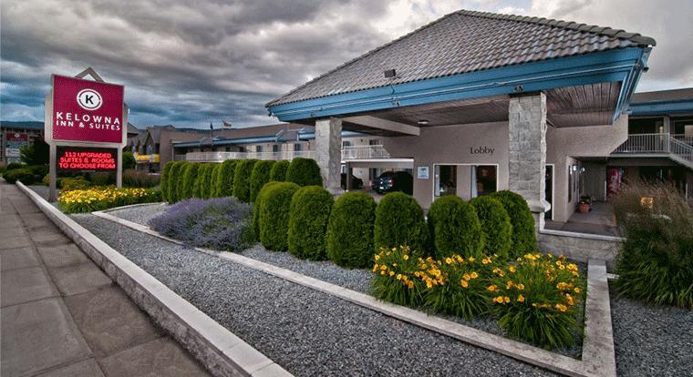 Kelowna Inn & Suites. Kelowna, BC.