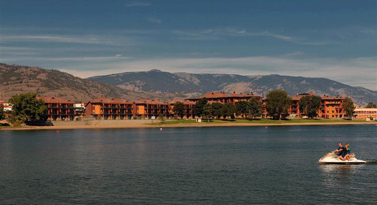 Watermark Beach Resort Hotel. Kelowna, BC.