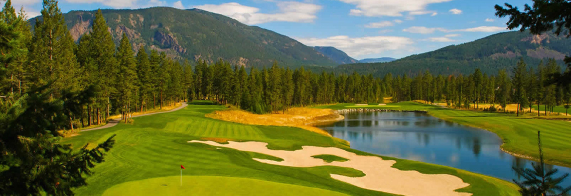 BC Golf Courses - Shuswap Golf Courses