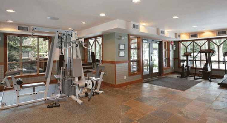 Private Whistler Condos - Fitness Centre. Whistler BC.