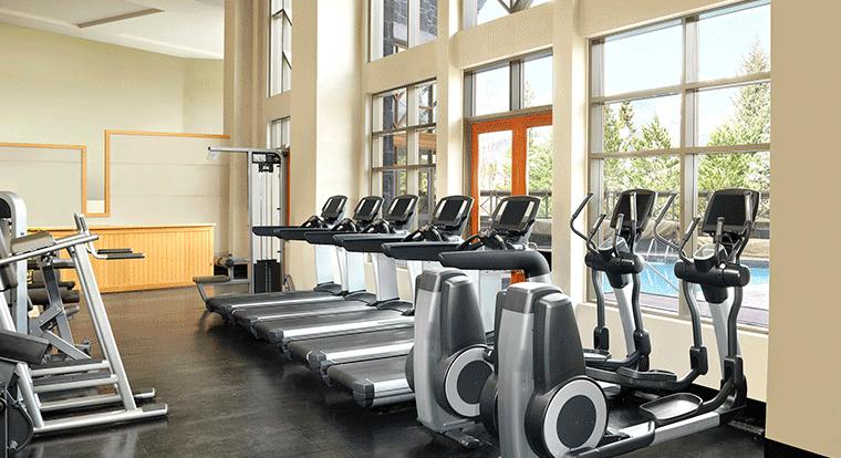 Westin Whistler - Fitness Facility. Whistler BC