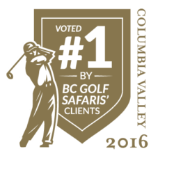 Voted #1 Golf Course in Columbia Valley 2016