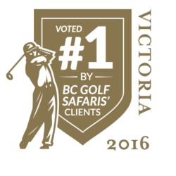 Voted #1 Golf Course in Victoria 2016