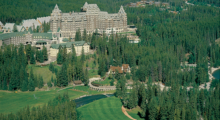 Banff Springs Golf Course and Hotel