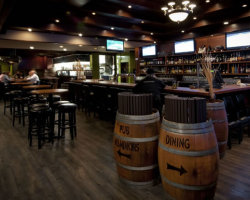 The Thompson Hotel Bar in Kamloops, BC