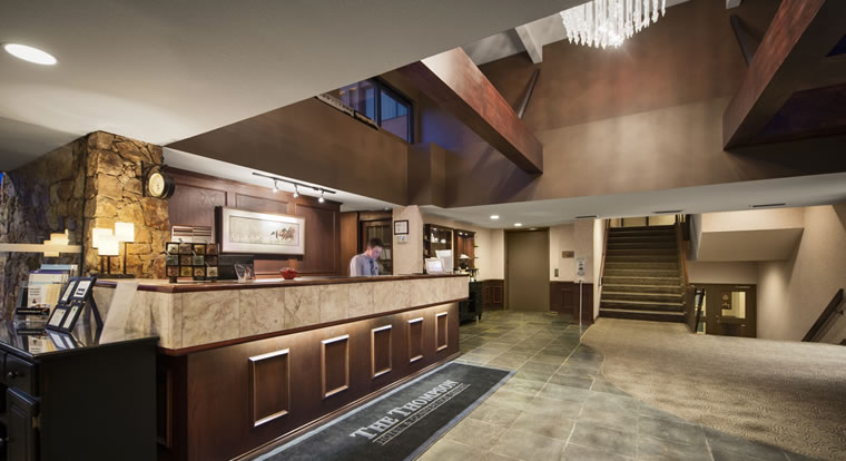 The Thompson Hotel - Lobby in Kamloops, BC