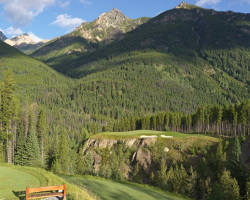 Cliffhanger at Greywolf Golf Course - Panorama, BC