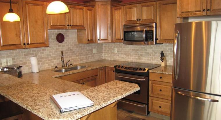 Kimberley Private Accommodation - Kitchen. Kimberley, BC