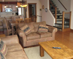 Kimberley Private Accommodation - Living Room. Kimberley, BC