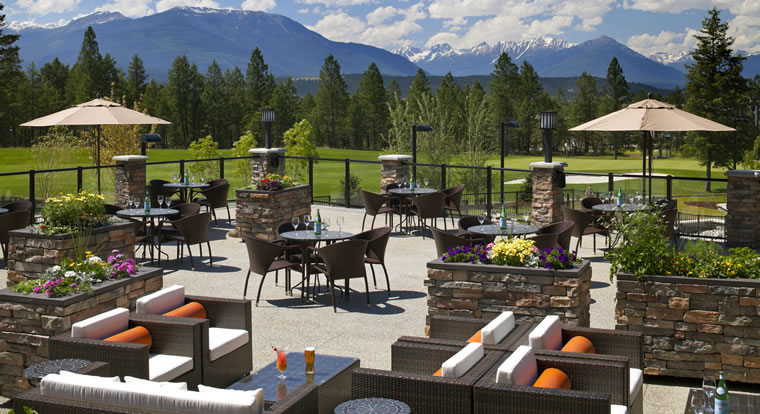 Copper Point Resort - Deck. Invermere, BC
