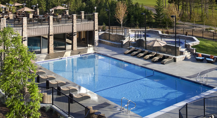 Copper Point Resort - Pool. Invermere, BC