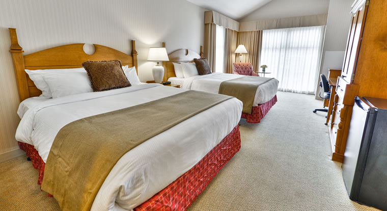 St. Eugene Golf Resort & Casino - Bedroom. Cranbrook, BC