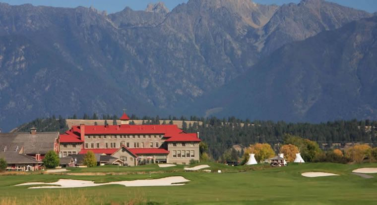 St. Eugene Golf Resort & Casino - Course View. Cranbrook, BC