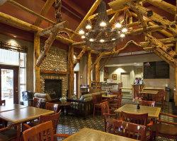 Trickle Creek Lodge - Restaurant. Kimberley, BC