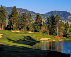 Okanagan Golf Club - Quail Course Hole 18 - Kelowna, BC