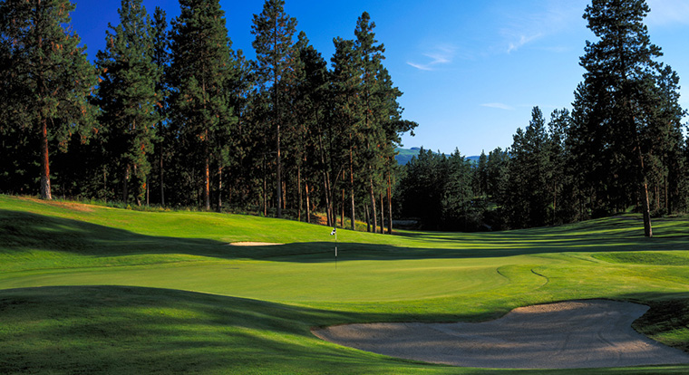 Gallagher's Canyon - Kelowna Golf Courses