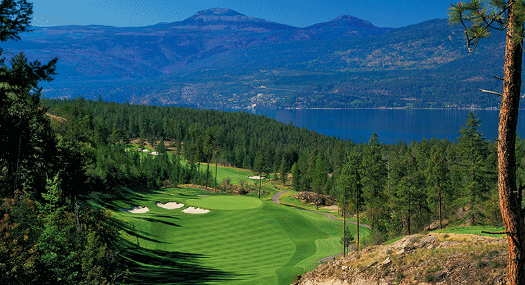 Predator Ridge Golf Resort - Ridge Course #6 Vernon, BC