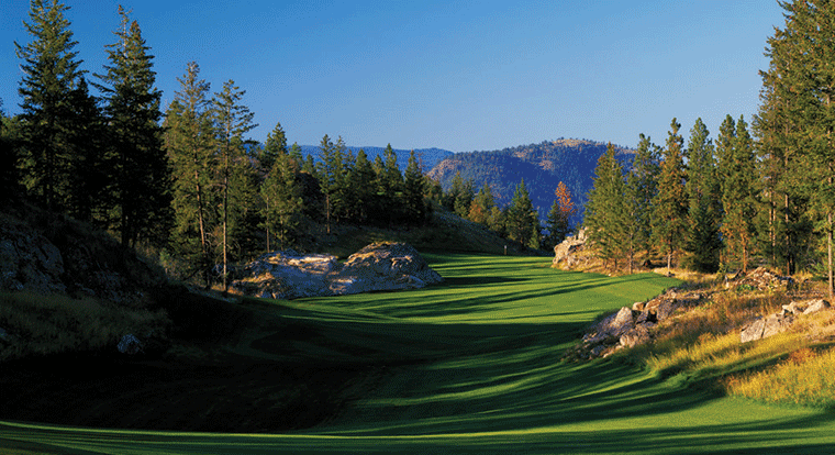 Predator Ridge Golf Resort - Ridge Course #9 Vernon, BC
