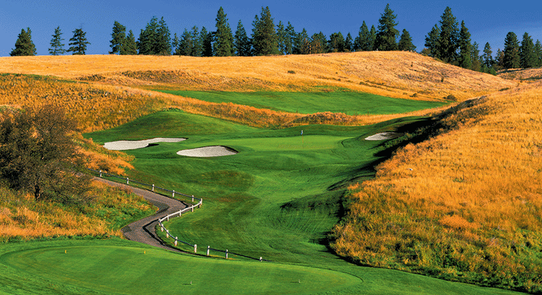 Predator Ridge Golf Resort - Predator Course #17 Vernon, BC