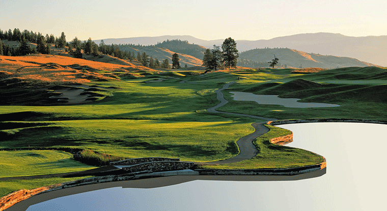 Predator Ridge Golf Resort - Predator Course #1 Vernon, BC