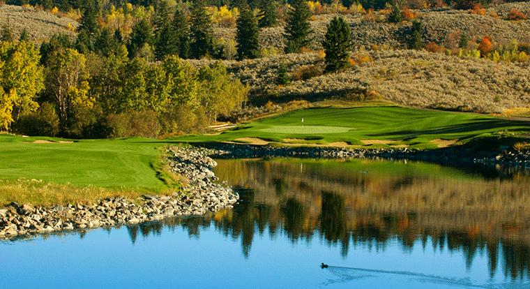 The Rise Golf Club - Hole #10. Vernon, BC