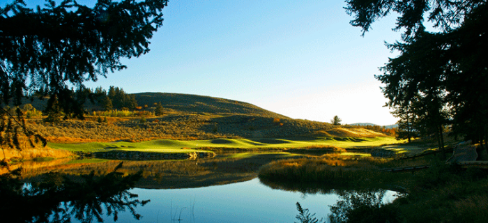 The Rise Golf Club - Sunrise. Vernon, BC