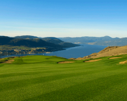 The Rise Golf Club - Hole #18. Vernon, BC