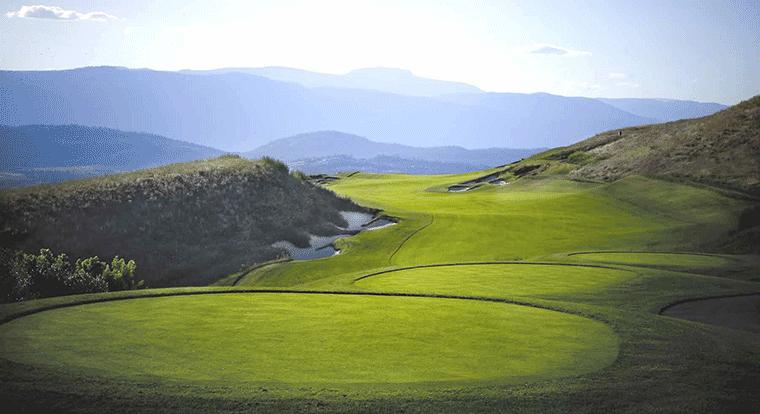 Tower Ranch Golf & Country Club - Hole #17. Kelowna, BC